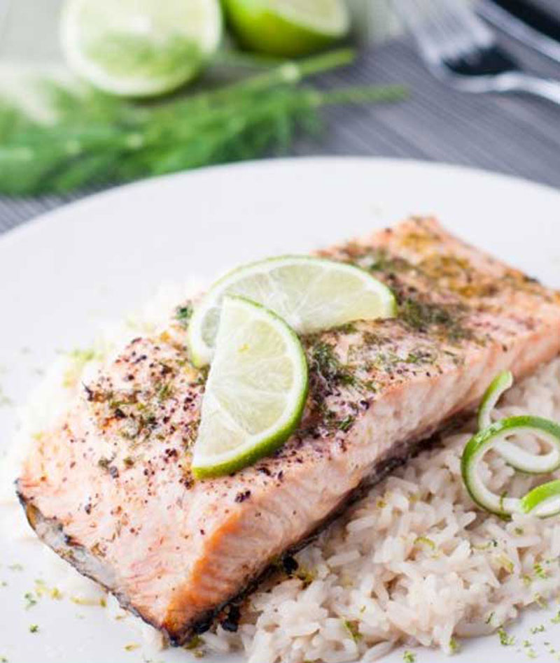 Slow-Roasted-Salmon-with-Dill-Cream