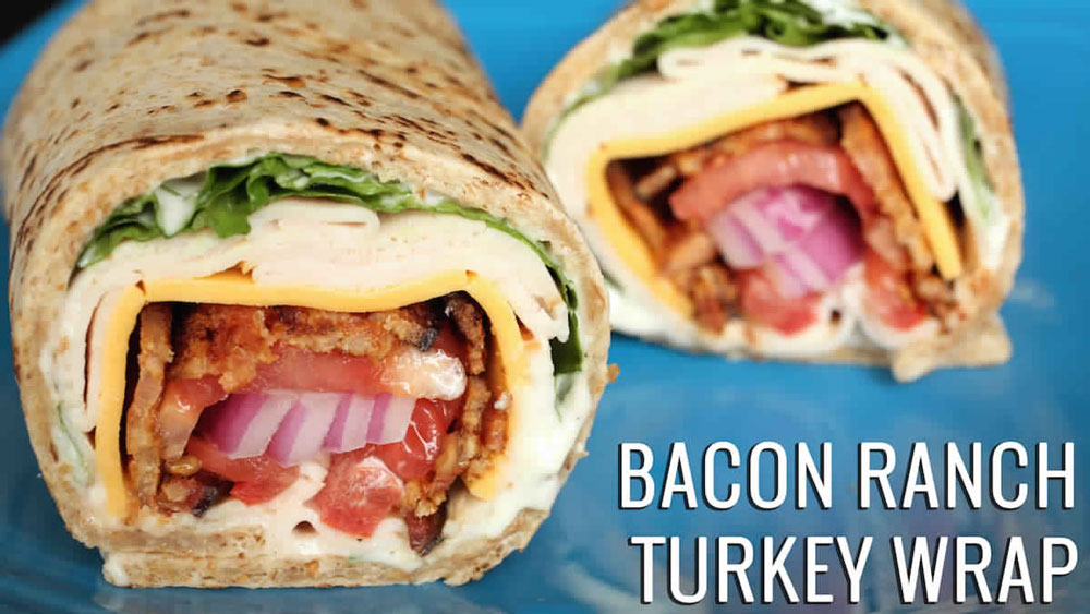 Bacon-Ranch-Turkey-Wrap