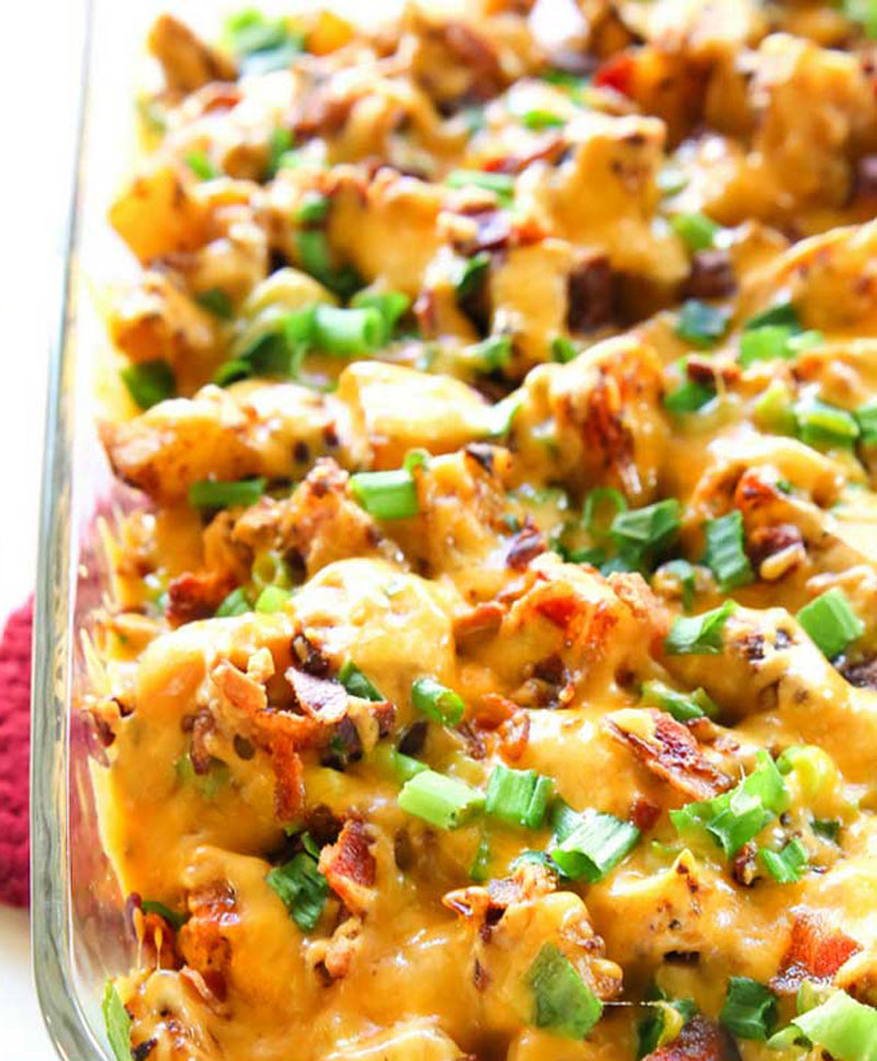 Chicken-and-Cheese-Casserole