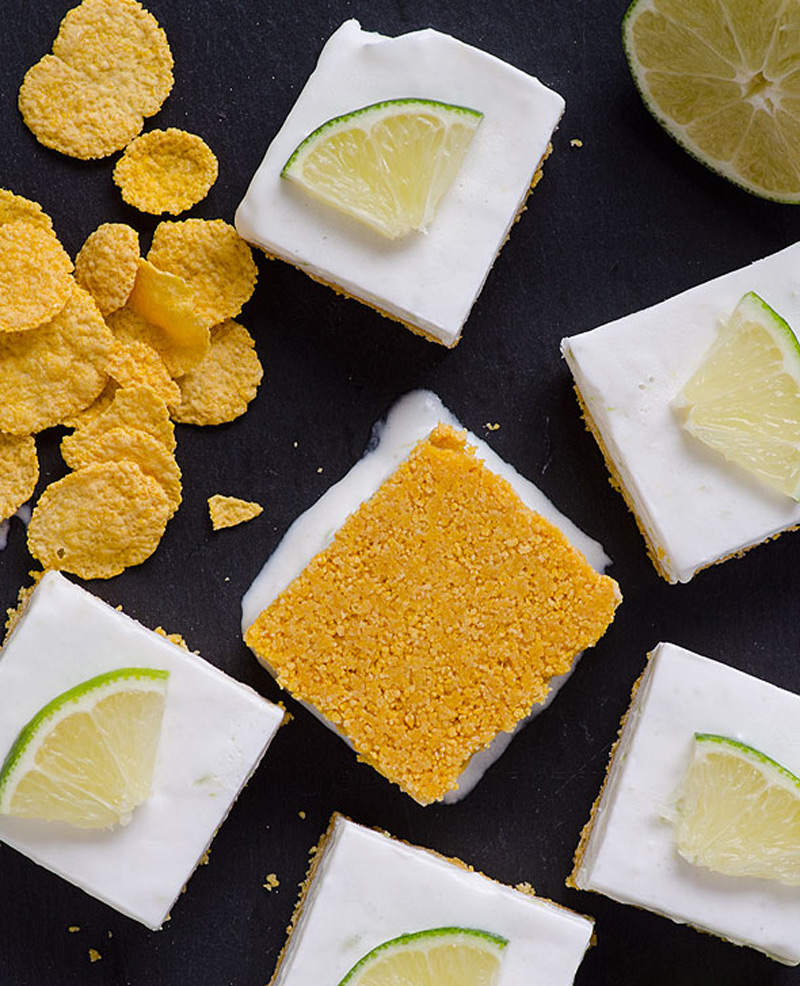 Clean-Eating-No-Bake-Key-Lime-Squares