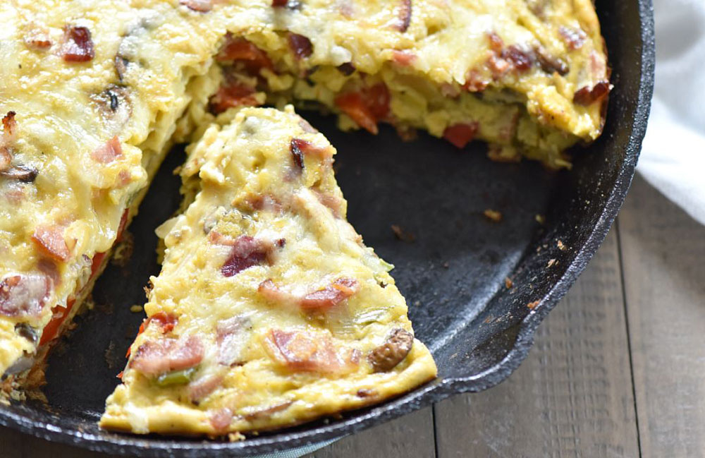 Pepper-and-Onion-Frittata