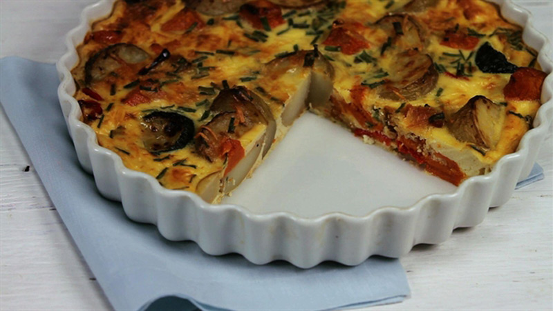 Roasted-Vegetable-Frittata