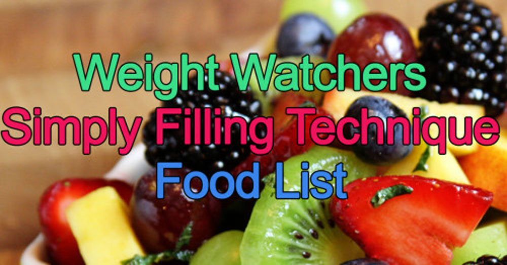 The-Simply-Filling-Technique-Food-List