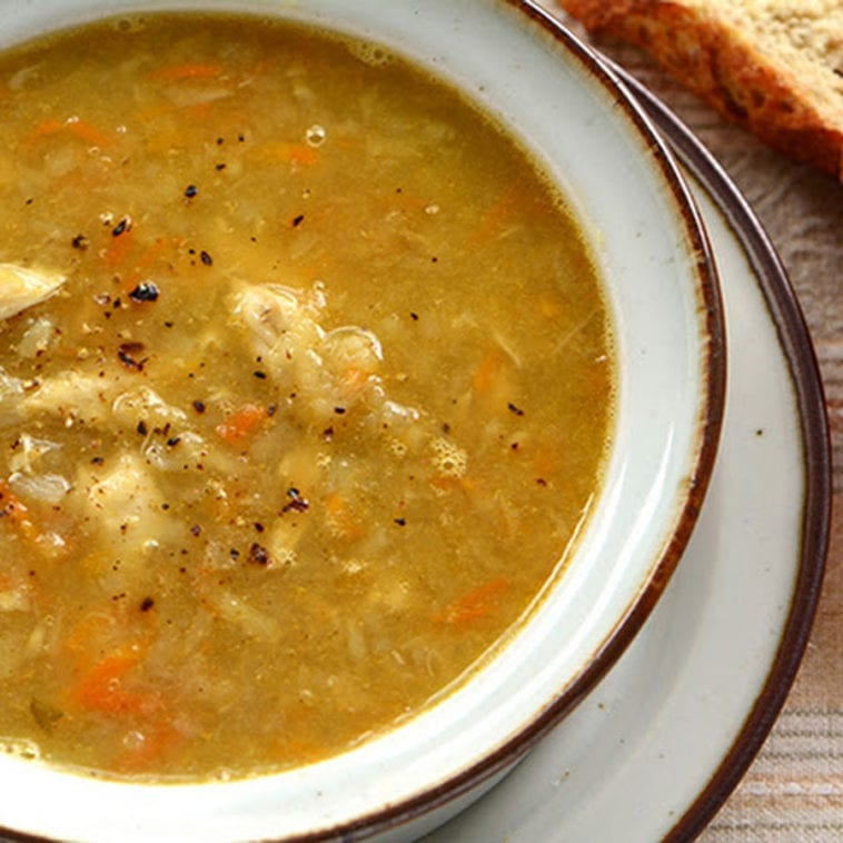 Better than Your Mom's Chicken Soup
