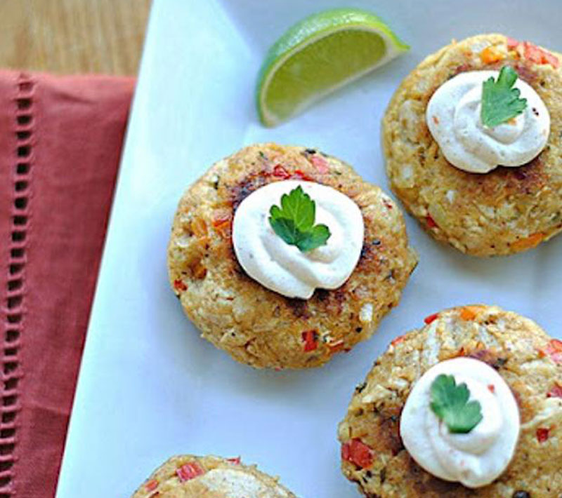 Chipotle-Chicken-Croquettes-with-Spicy-Mustard-Sauce