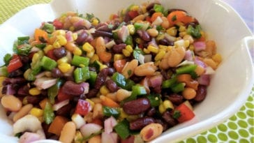 Easy kidney bean salad