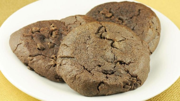 Fat-free-Chewy-Chocolate-Cookies