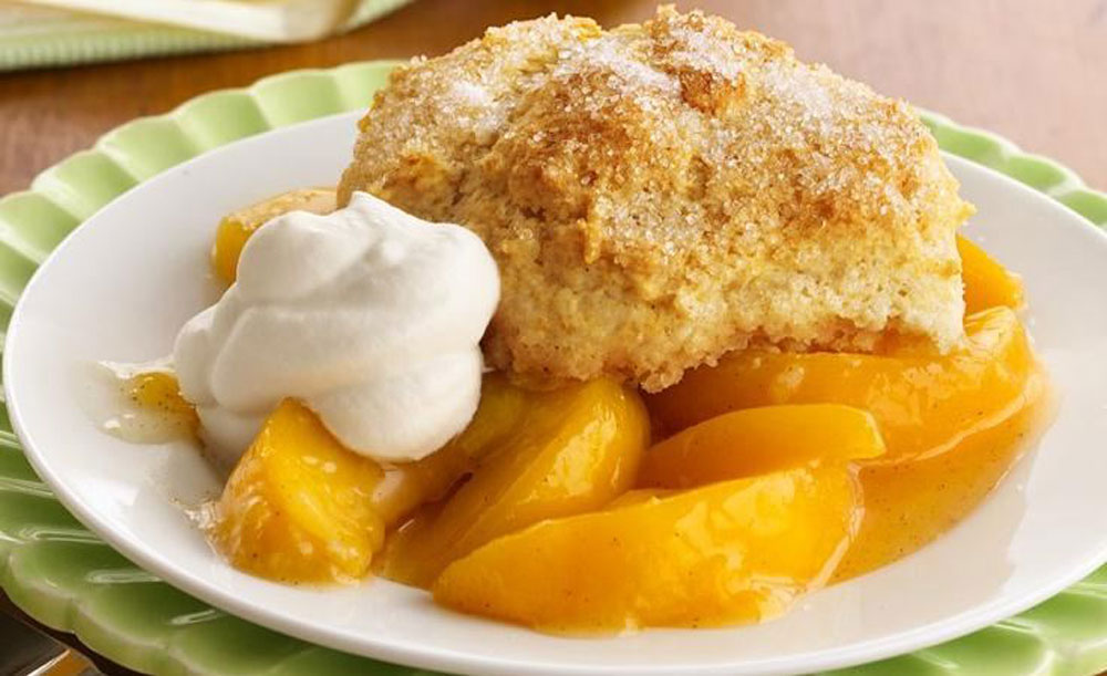 Healthy-Peach-Cobbler