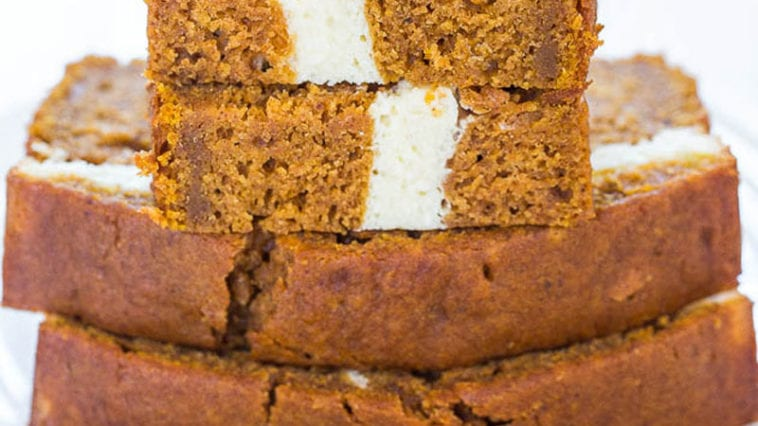 Skinny Pumpkin and Cream Bread