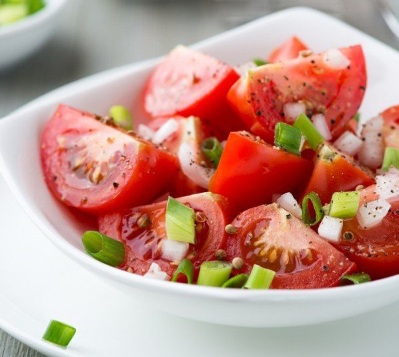 MARINATED-TOMATO-SALAD