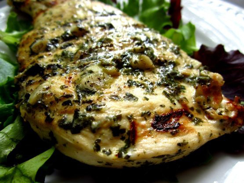 Cilantro-Chicken
