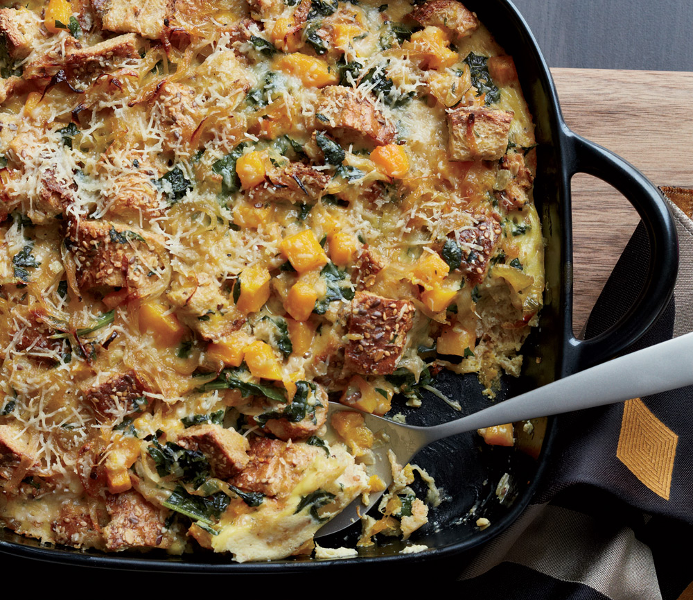 Healthy-Squash-and-Kale-Casserole