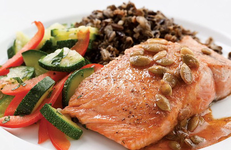 salmon-with-pepita-lime-butter