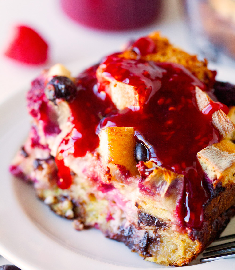 Raspberry-French-Toast-Bake