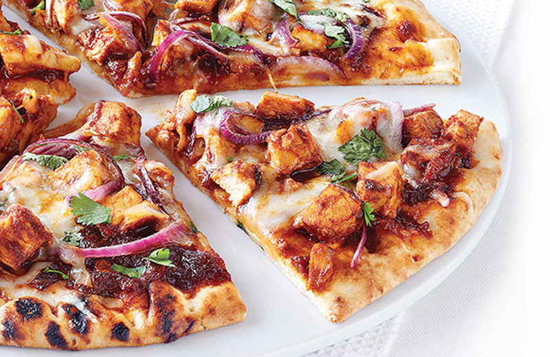 Clean-Eating-BBQ-Chicken-Pizza