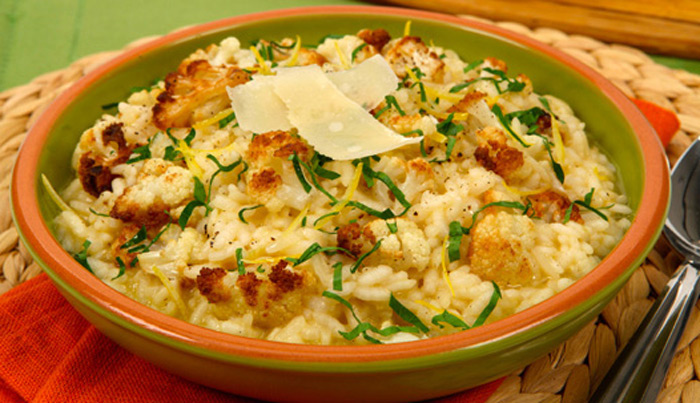roasted-cauliflower-risotto-with-canadian-parmesan