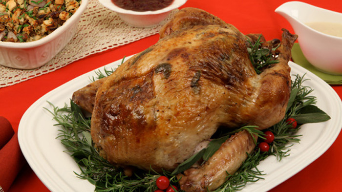 sage-butter-turkey-with-shallot-sausage-stuffing
